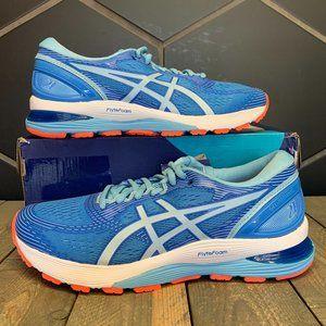 Womens Asics Gel Nimbus 21 Blue Coral Running